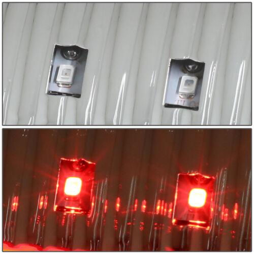 LED BAR FIT 2008-2010 FORD SUPER DUTY CHROME TAIL LIGHT+CLEAR SIGNAL HEADLIGHT