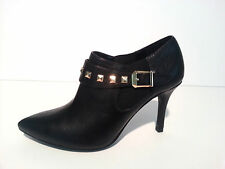 New Guess Women's WGSETTING-M Black Heel Leather Shoes Sz 6.5 US,8 US