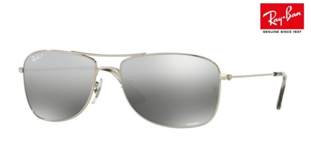 91d162da36 Sunglasses Ray-Ban Rb3543 003 5j 59 Silver Grey Mirror Polarized for ...