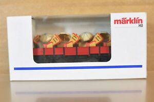 Marklin-1998-Short-Rouge-Cuxhaven-Wagen-Wagon-Wagon-Rouge-Seat-Sondermodell