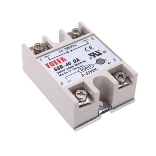 32-3Vdc solid state relay Relè SSR-25DA statico stato solido 25A 380-24Vac