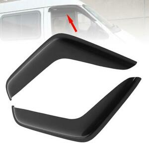 Side Window Deflectors For for For-d Transit MK6 MK7 2000-2004,2pcs Front /& Rear Vent Shade Window Visor Rain Deflector