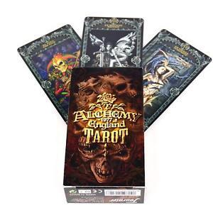 Alchemy-Gotik-England-Tarot-Karten-Hexe-Mystischer-Magisch-Heidnisch-Okkult