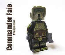 LEGO Custom -- Commander Faie -- Star Wars Clone Trooper 41st kashyyyk 75035