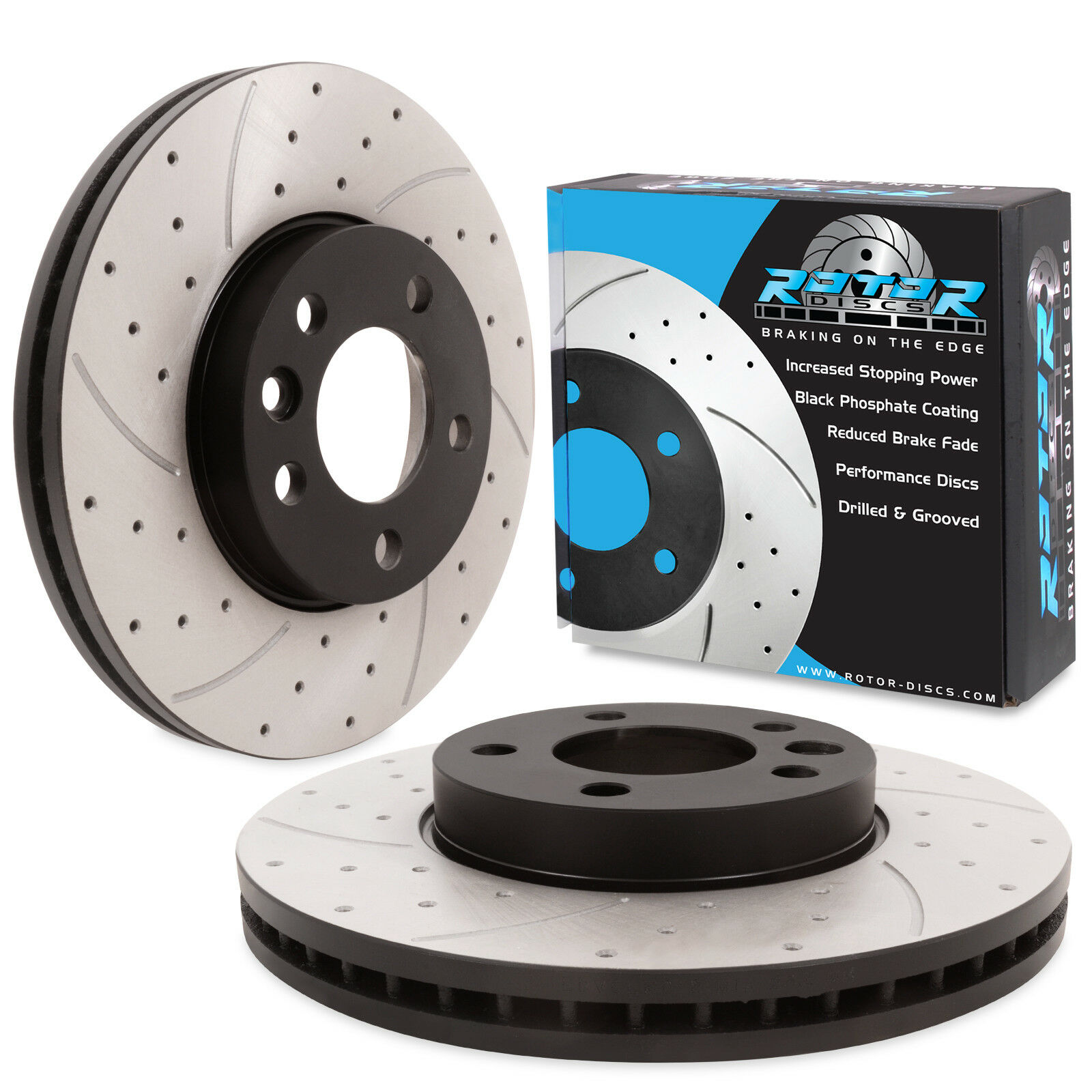 VOLKSWAGEN  TRANSPORTER T5  PAIR OF FRONT VENTED 308mm BRAKE DISCS  AND PADS