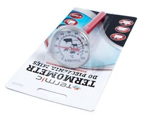 Pressure-Ham-Cooker-Thermometer-Stainless-Steal-0-C-to-100-C-FREE-P-amp-P