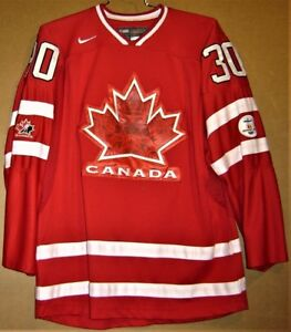 2010 CANADA Red #30 OLYMPIC HOCKEY TEAM MARTIN BRODEUR JERSEY | eBay