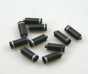 10 pieces TEAMSSX~New Jagwire End Caps Nosed 4mm