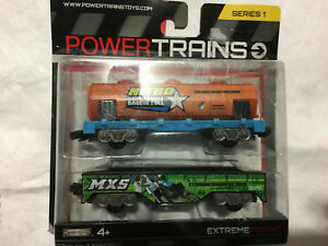 Power Trains Extreme Freight 2 Car Pack BRAND NEW Sealed Series 1 Release BNIB