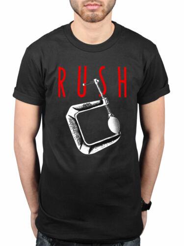 Official Rush Vault T-Shirt Rock Band Tour Merch Geddy Lee Tom Sawyer