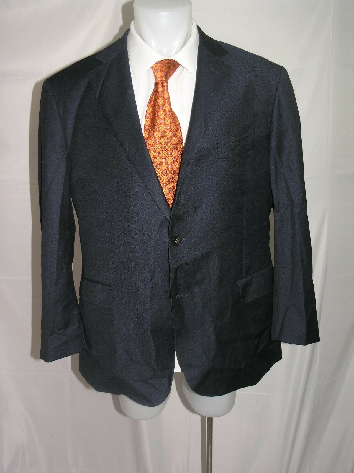 Suitsupply Vitale Barberis Canonico Super 110 Two Button Blazer 50 R