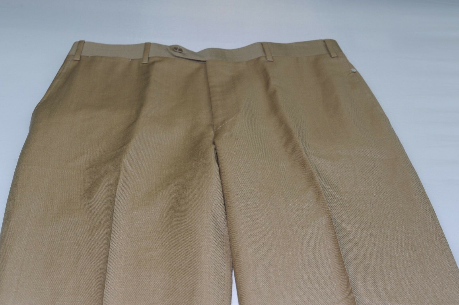 NWOT Canali Men's Flat Front Wool Dress Pants 34X29 () Made
