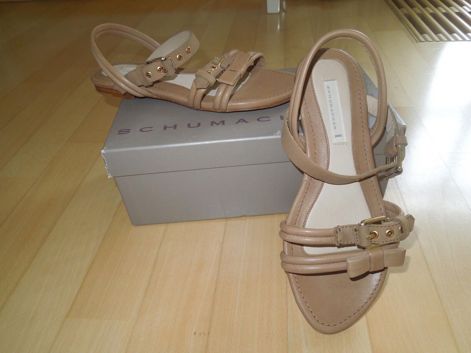 Dorothee SCHUMACHER -  Schuhe / Sandalen - müde - beige - Chic und NEU !!!!