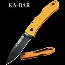 KA4062BO Couteau Kabar Dozier Blaze Orange Folding Hunter GFN Handle AUS-8 Blade