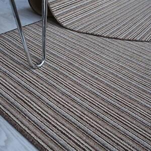 Preiswert-Teppich-Fein-Streifen-TIM-Streifen-natur-beige-200-cm-breit-NEU
