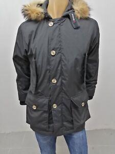 Giubbino-WOOLRICH-Uomo-Taglia-Size-S-Jacket-Man-Veste-Homme-Nero-Cotone-7653
