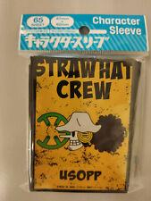 One Piece Jolly Roger Usopp Card Sleeve Ensky Weiss Schwarz Dragon