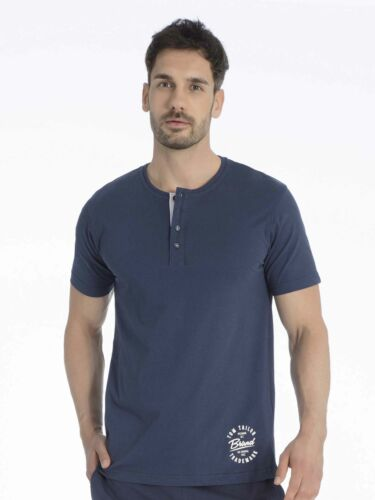 TOM TAILOR Herren Shirt mit Knopfleiste Mix It Up NEU /& OVP