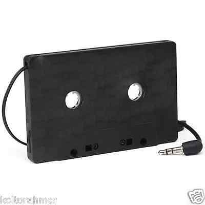 New Car Black Cassette Tape CD Adapter Converter for MP3 iPod Nano MD iPhone