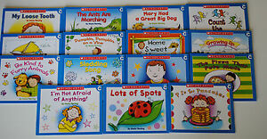 Level-C-15-Book-Lot-Guided-Reading-Preschool-Kindergarten-Learn-to-Read