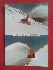 SPAIN-POSTAL-LLEIDA-PUERTO-DE-LA-BONAIGUA-PIRINEU-CATALA-PIRINEOS-QUITANIEVES