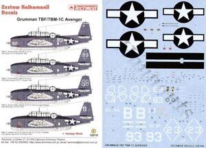 Techmod 1/32 Grumman TBM-1C Vengador #32016