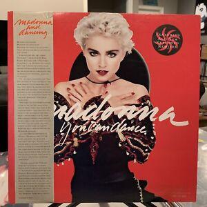 MADONNA-You-Can-Dance-vinyl-LP-Remixes-1987-Obi-Hype-Sticker-NM-EX-Promo