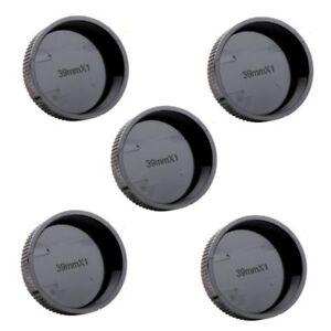 5pcs-Rear-Lens-Cap-Cover-for-Leica-L39-M39-39mm-Screw-Mount-Black-Wholesales