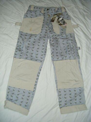 Garden Girl Womens Gardening Trouser Pants BLUE Euro Size 40