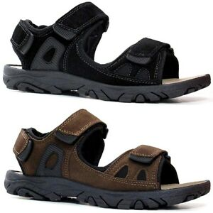 Mens-Leather-Strap-Walking-Summer-Beach-Mules-Gladiator-Sandals-Shoe-Size