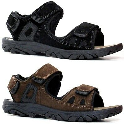 Selbstlos Mens Leather Strap Walking Summer Beach Mules Gladiator Sandals Shoe Size