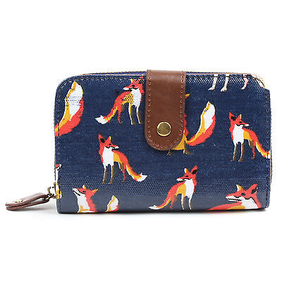 Ladies Women Designer Oilcloth Purse Wallet Girls Coin Purse Bag