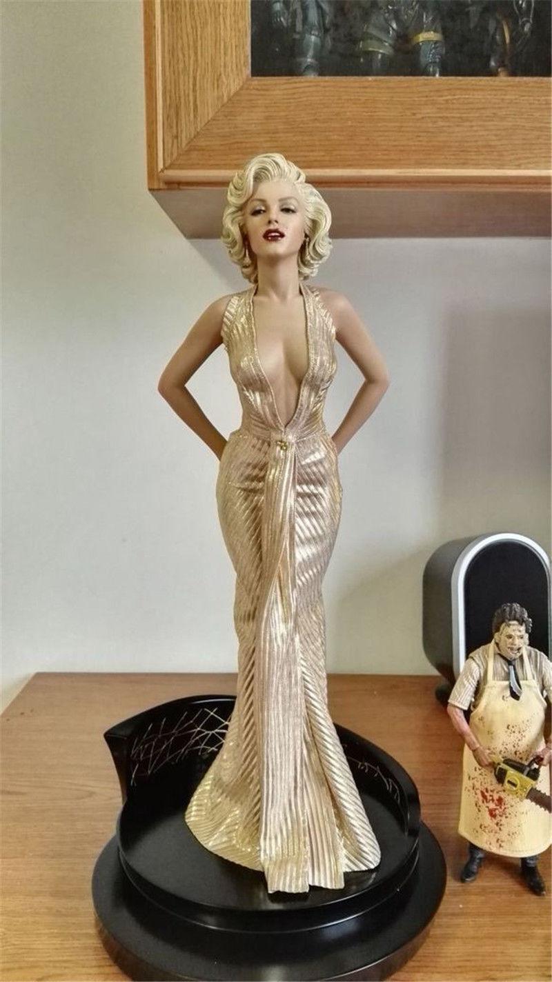 Marilyn monroe herren bevorzuge blondinen 1   4 maßstab pvc - statue in abbildung 16  h neue