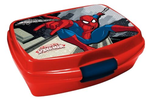 Box Porta pranzo  porta merenda Spider-man ideale Materne, Elementare, Gite