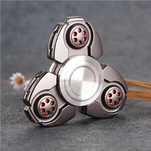 EDC Hand Fidget Spinner Titanium Alloy Finger Gyroscope Focus Toy