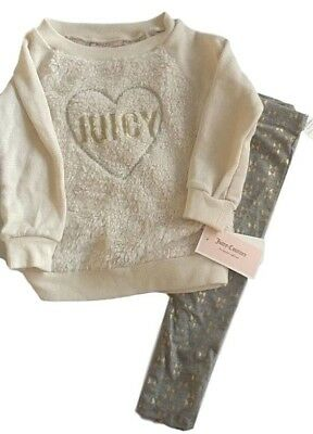 Gymboree Baby Girl 2 Piece Set Sweater /& Pants Faux Fur