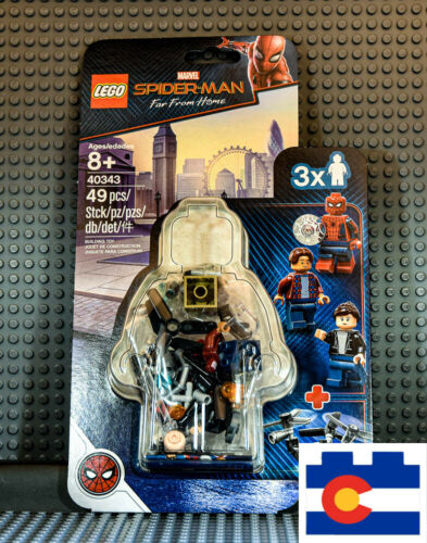 LEGO 40343 Marvel Spiderman Far From Home Museum Break-In New Lego Spider-Man