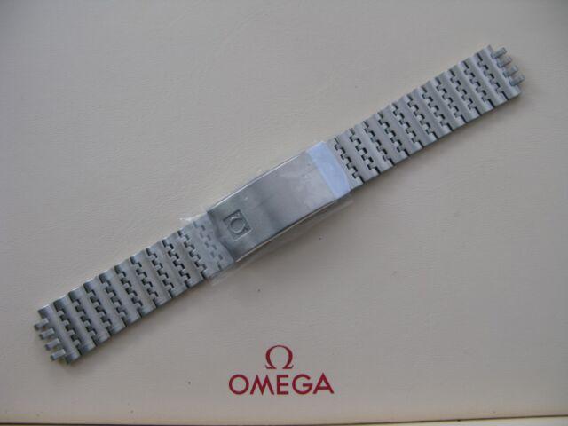 d10bd3747dec Omega brazalete de acero inoxidable cierre Nº 1193 - excelente ...