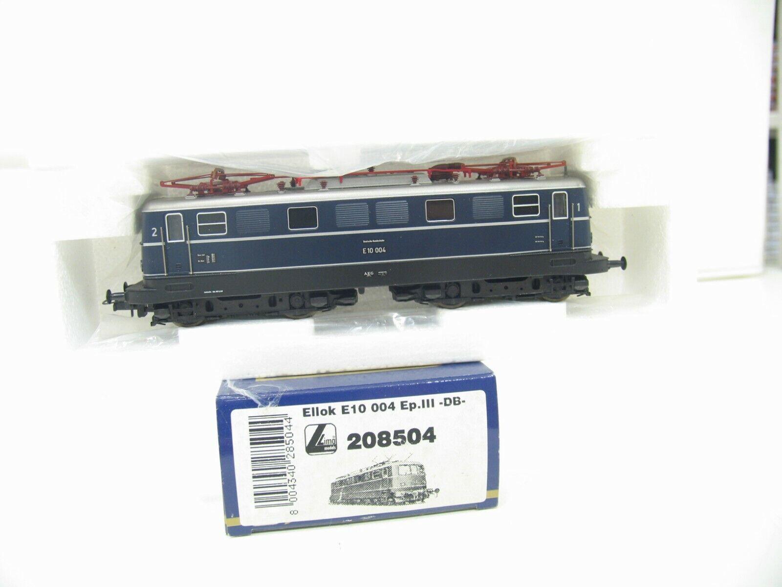 Lima 208504 e-Lok e 10 blu de la DB js921
