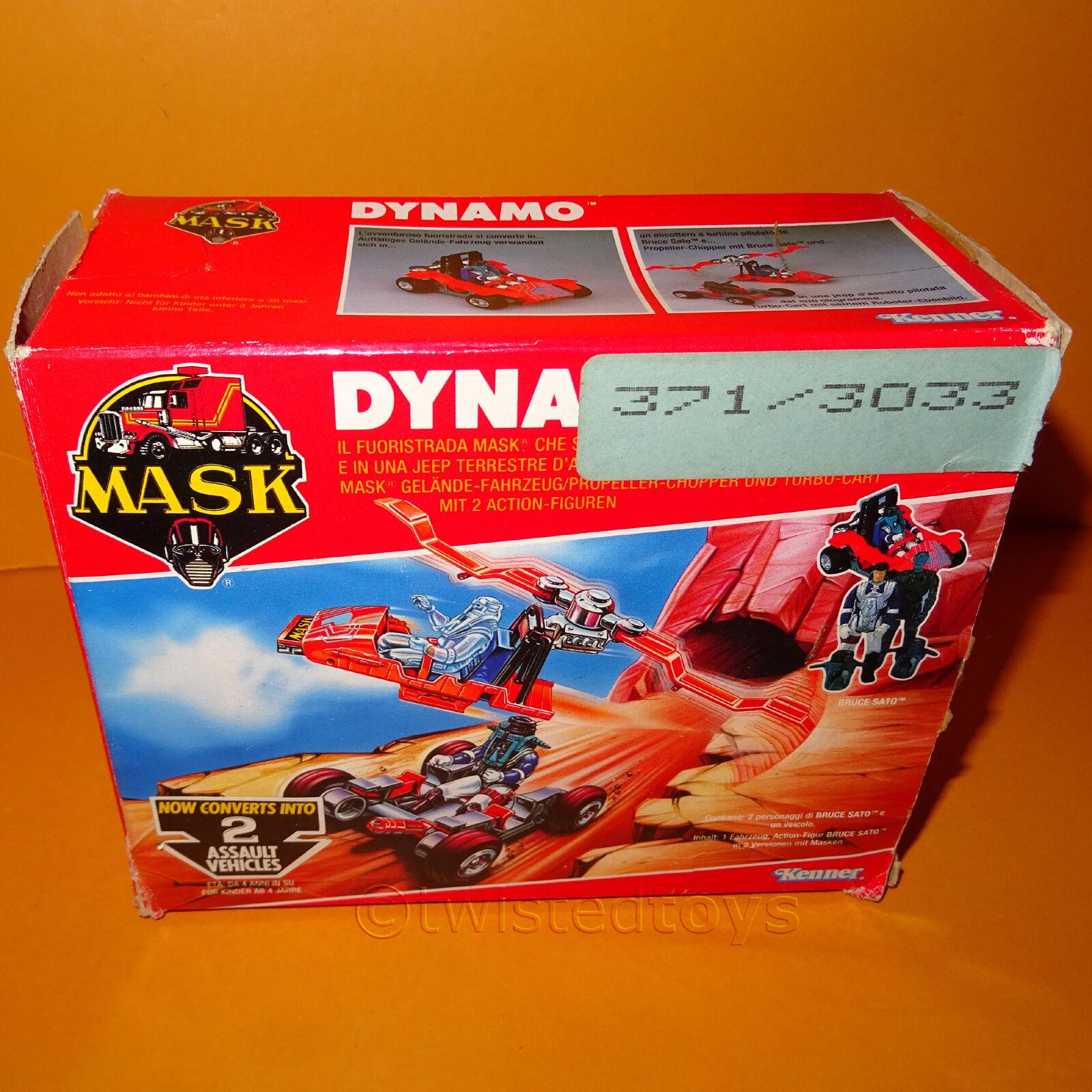 VINTAGE 1987 80 S KENNER M.A.S.K Mask DINAMO Off-Road Veicolo Chopper IN SCATOLA RARO