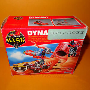VINTAGE-1987-80s-KENNER-M-A-S-K-MASK-DYNAMO-OFF-ROAD-VEHICLE-CHOPPER-BOXED-RARE