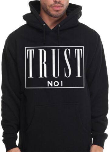 Trust NO 1 one Hoodie Rap hip Hop Migo XXX pac Plug OG urban Pullover Sweatshirt