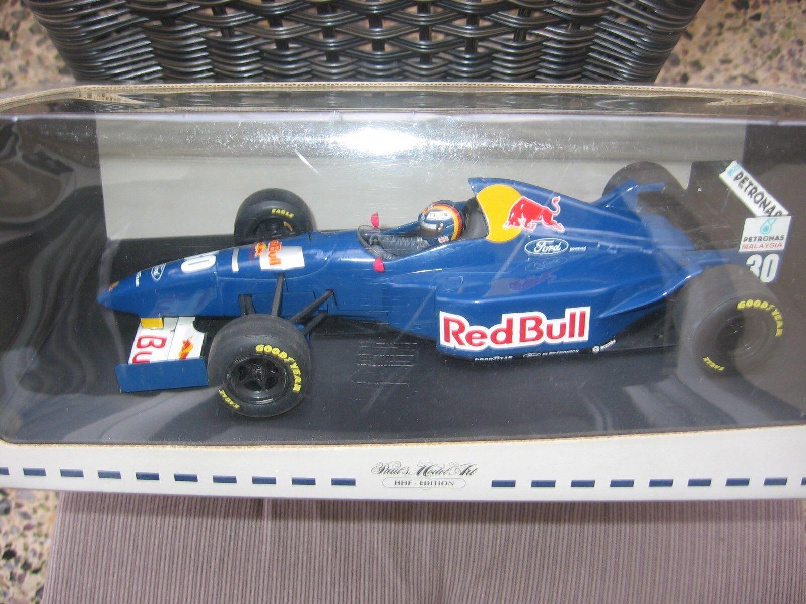 F1 H. H. FRENTZEN SAUBER FORD RED BULL Launch Version 1996 Minichamps NEW & OVP