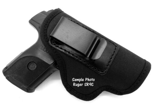 Choose Gun Right Hand IWB AIWB Inside Pants COMBAT GRIP Holster for COMPACTS