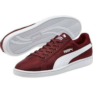 Puma Shoes  Puma Smash Ripstop Mens Casual Shoes CabernetWhite