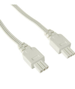 """Juno JC3-26-WH Pro-Series Jumper Cord 26"""" for Under Cabinet Lighting New"""