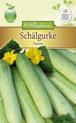Schälgurke 'Fatum' - Cucumis sativus, für Senfgurken, Gurke, ca. 40 Samen 4262