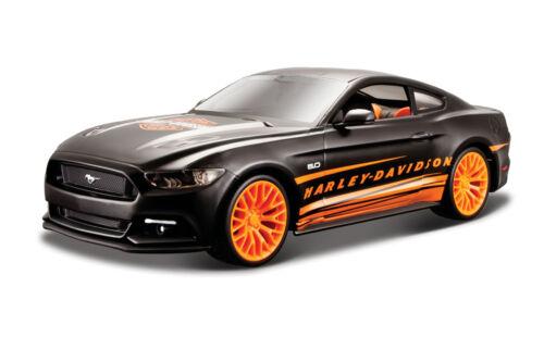 Ford Mustang GT 2015 Harley-Davidson Custom schwarz 1 Maßstab 1:24 von maisto