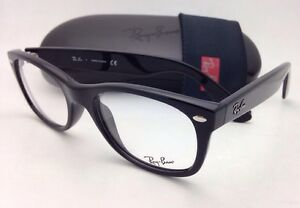 9ca67ae50b New RAY-BAN Rx-able Eyeglasses RB 5184 2000 50-18 Black Frames w ...