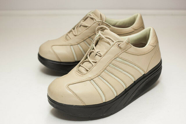 MBT 6 Tan Walking Shoe Women's